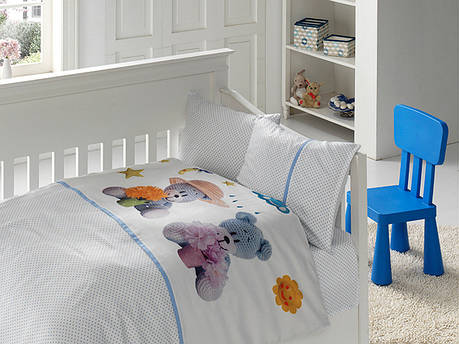 Белье постельное для новорожденных First Choice 3D BABY Mavis, фото 2