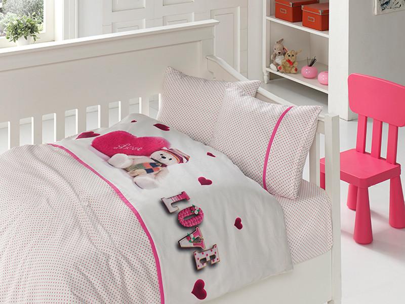Белье постельное для новорожденных First Choice 3D BABY My little