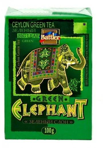 Чай зеленый Battler Green Elephant 100g