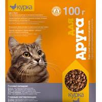 Сухой корм Для друга для кошек (курица) 100г O.L.Kar