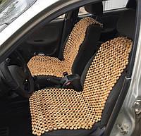 Массажные накидки на авто-кресло, 2шт, черешня