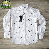 Нарядная белая рубашка Tommy Hilfiger для мальчика на выпускной