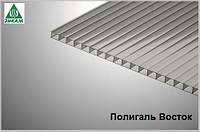Сотовый поликарбонат Polygal (Россия) 4мм прозрачный