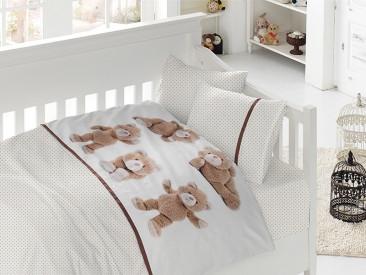 Белье постельное для новорожденных First Choice 3D BABY Teddy