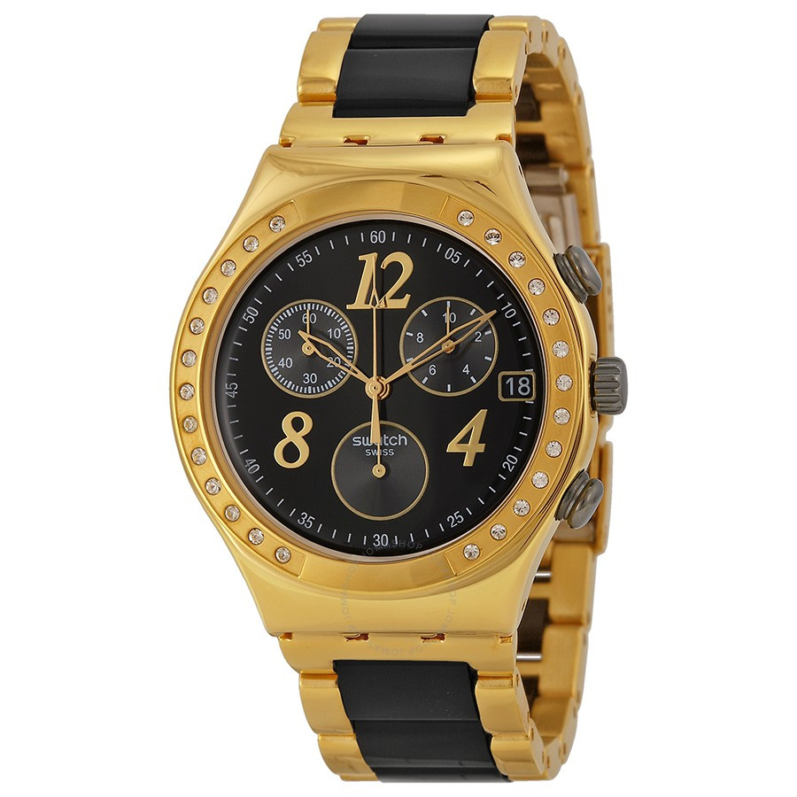 Часы женские Swatch Chronograph YCG405G