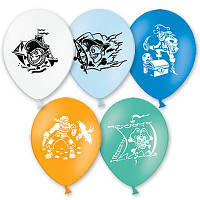 """Воздушные шары  Пираты 10,5"""" (27 см), 50 штук в упаковке"""