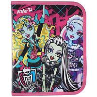Папка на молнии Monster High В5, KITE