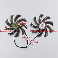 Кулер (вентилятор) для охлаждения видеокарты 95 мм EVERFLOW T129215SM