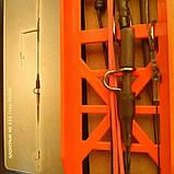 Безопасная клипса( без груза, усиленная) 2 крючка, фото 3