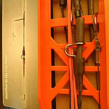 Безпечна кліпса( без вантажу, посилена) 2 гачка, фото 3