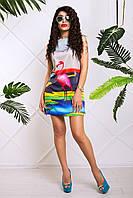 Летнее платье для молодой девушки Khloya 42–50р.