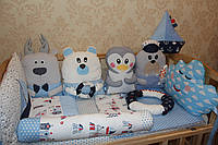 Бортики в детскую кроватку, фото 1