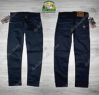Темно-синие брюки-джинсы для мальчика