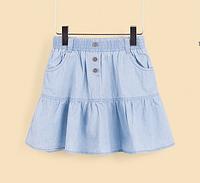 Красивая джинсовая юбочка для девочек