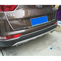 Kia Sportage KX5 Mk4 2015+ хром накладки на крышку багажника
