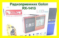 Радиоприемник GOLON Фонарь RX-1413 FM, AM, SW 168 Band Radio!Опт