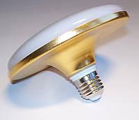 Светодиодная лампа-светильник LED UKC 220V 24W E27 плоская, 1202