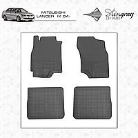 MITSUBISHI LANCER IX 2004-2008 Резиновые коврики Оригинальный размер Комплект состоит из 4-х ковриков