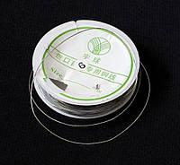 Проволока серебристая для бижутерии, 0,6 мм