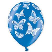 """Воздушные шары  Бабочки металлик 14"""" (35 см), 25 штук в упаковке"""