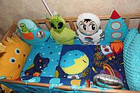 Бортики, защита в детскую кроватку, фото 1