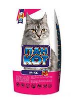 Корм для кошек Пан Кот сухой микс 10кг