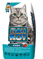 Корм дя кошек Пан Кот сухой рыба 10кг