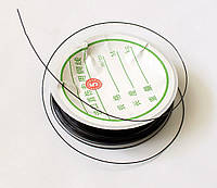 Проволока для бижутерии чёрная, 0,5 мм