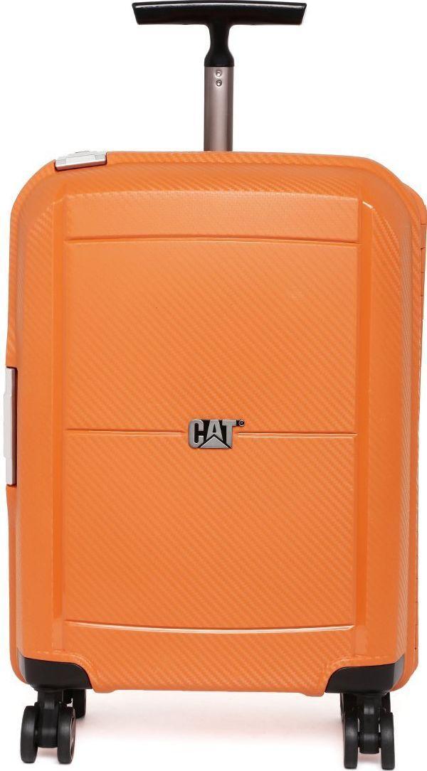 Малый компактный чемодан на 4-ох колесах 28 л. CAT Cloud Spinner 83397;350 оранжевый