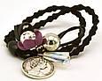 Резинка для волос Цветок с монетой, фото 3