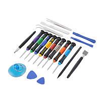 Качественный набор инструментов 19 предметов для ремонта телефонов, планшетов, ноутбуков