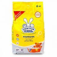 Стиральный порошок Ушастый нянь для детского белья 6 кг (4820026412887)
