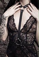 Портупея, материал-кожа, модный стильный аксессуар ремень на грудь в этом сезоне. Розница, опт