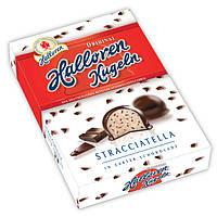Шоколадные конфеты Halloren Kugeln Stracciatella, 125 г.
