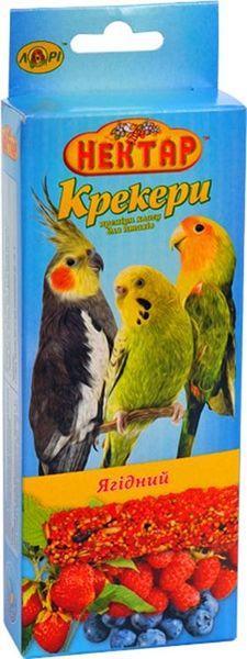 Корм папуг  Нектар крекер ягодный 2х50гр. Лори