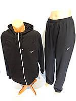 Спортивный костюм мужской полноразмерный Nike весна черный разм. 50-56