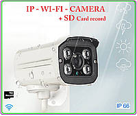 Ip wifi camera 720p + sd record + запись звука, фото 1
