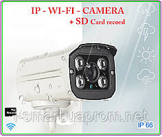 Ip wifi camera 720p + sd record + запись звука