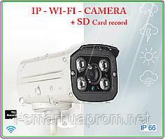 Ip wifi camera 720p + sd record + запись звука