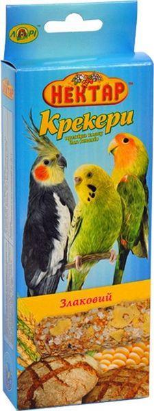 Корм папуг Нектар крекер злаковые 2х50гр. Лори