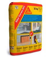 Эластичный клей для керамической плитки SikaCeram®-201, 25 кг