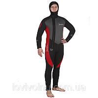 Гидрокостюм для ныряний Marlin ALASKA  7mm нейлон/плюш, р-ры S-XXXL(одежда для дайвинга)