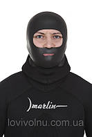 Шлем Marlin BANDIT сендвич 3mm шаркскин/нейлон, р-ры M,L,XL(шлем для дайвинга, неопреновый шлем))