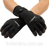 Перчатки Marlin KEVLAR 5mm, кевларовые вставки, застежка велкро, р-ры M-XXL(перчатки из неопрена))