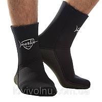 Носки Marlin KEVLAR 5mm, открытая пора, подошва кевлар (K-foam), p-pы 38-47 (носки для дайвинга)