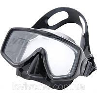 Маска Marlin LOOK black  (классика) (маска для подводного плавания, маска для дайвинга)