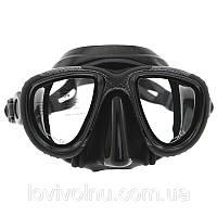 Маска Marlin HYBRID karbon  (рамка окрашена под карбон)(маска для дайвинга)