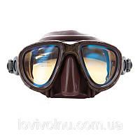 Маска Marlin CAMO brown  просветленные стекла (коричневый камуфляж)(маска для подводного плавания)