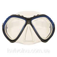 Маска Marlin CUBA blue/red/yellow clear sil.(маска для подводного плавания)