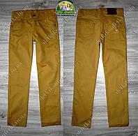 Желтые джинсы для мальчика